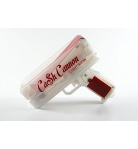"The Cash Cannon LED Light Show ""Let's Make it rain Money Gun"" - Red"